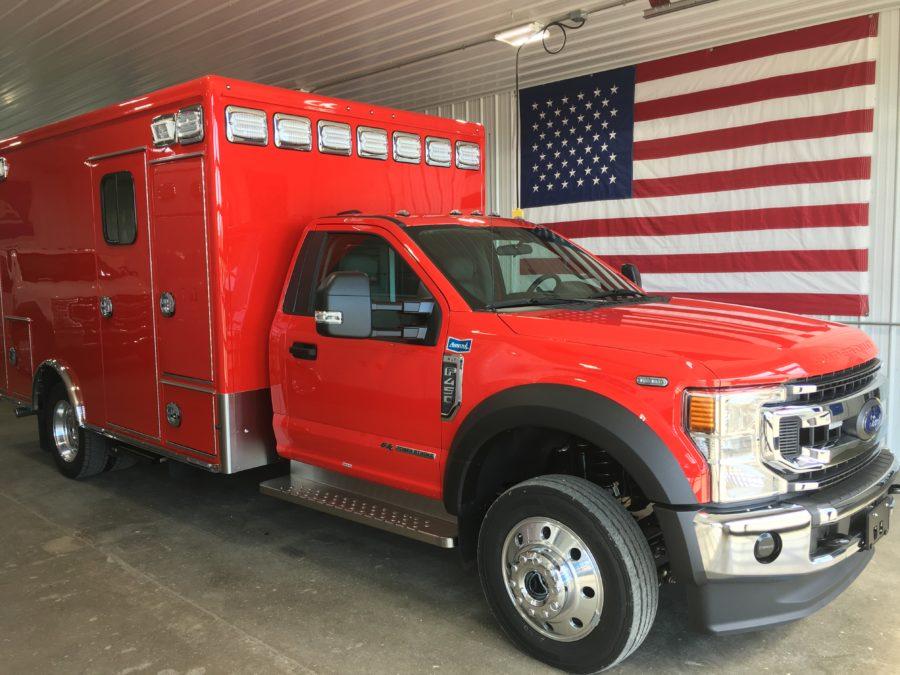 2020 Ford F450 Heavy Duty 4x4 Ambulance
