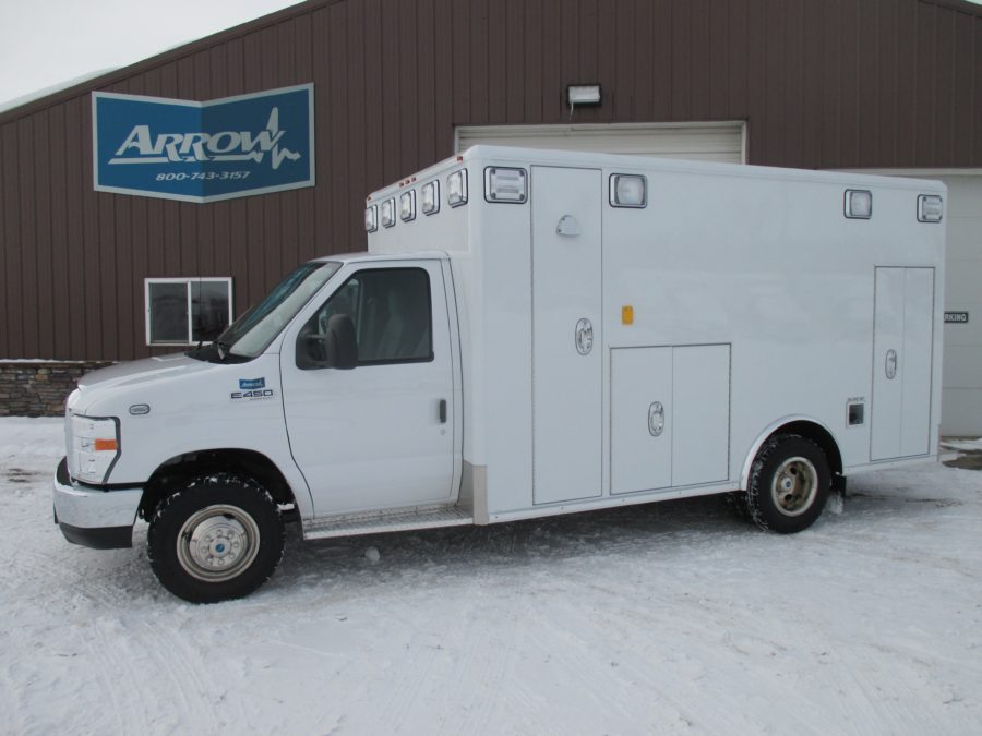 2016 Ford E450 Type 3 Ambulance delivered to Northglenn Ambulance in Northglenn, CO