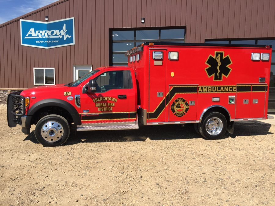 Ambulance delivered to Frenchtown Rural Fire District