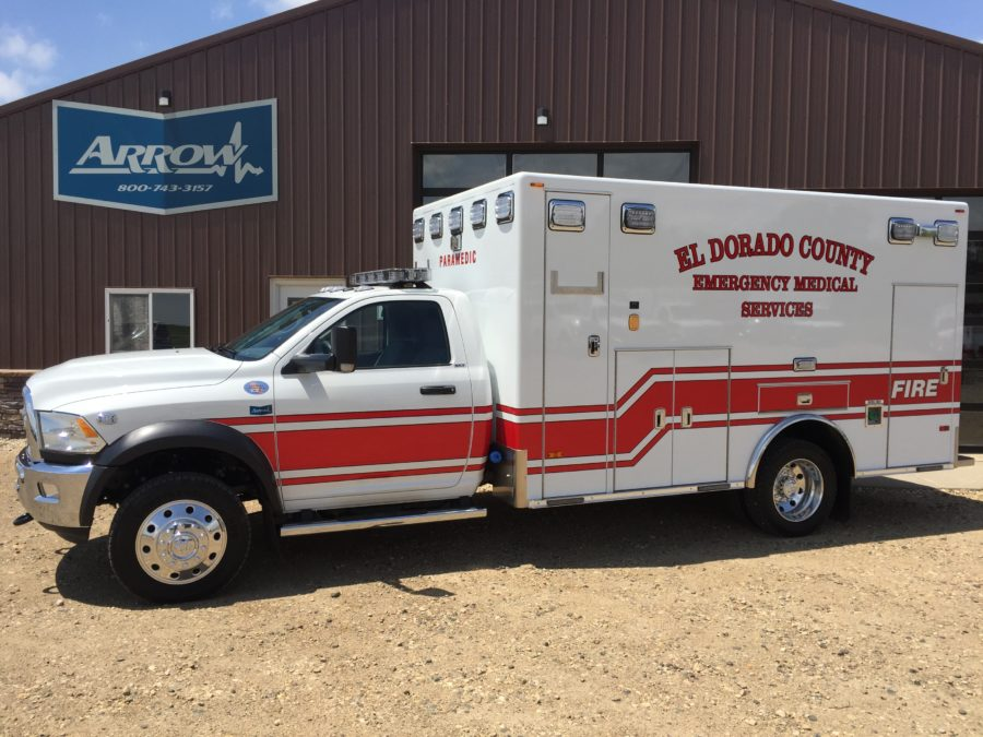 Ambulance delivered to El Dorado County