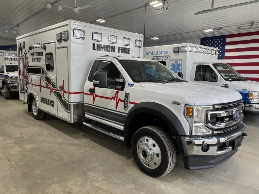 2019 Chevrolet K3500 Type 1 4x4 Ambulance