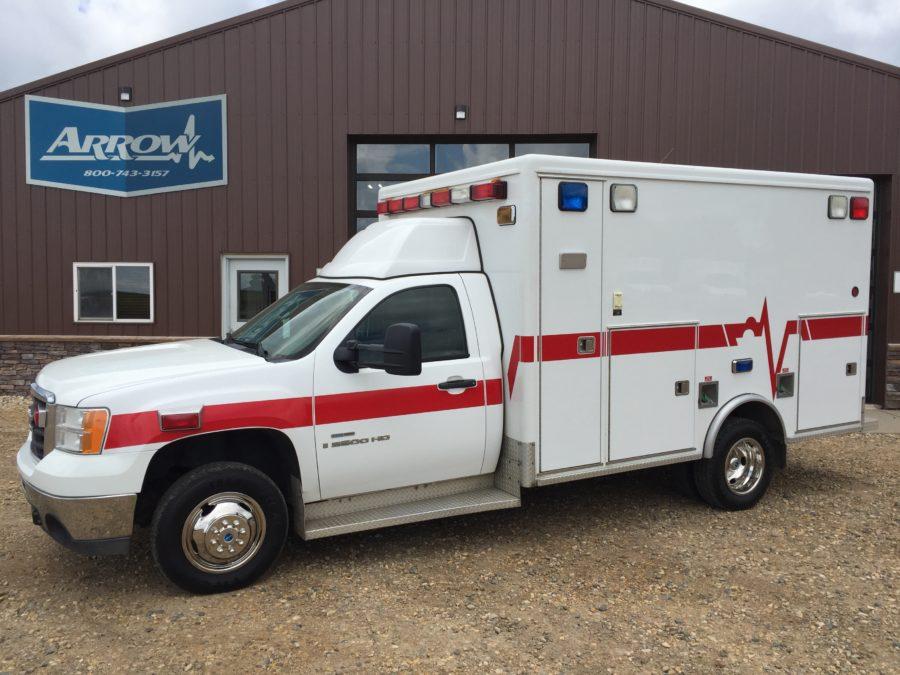 2008 GMC K3500 Type 1 4x4 Ambulance
