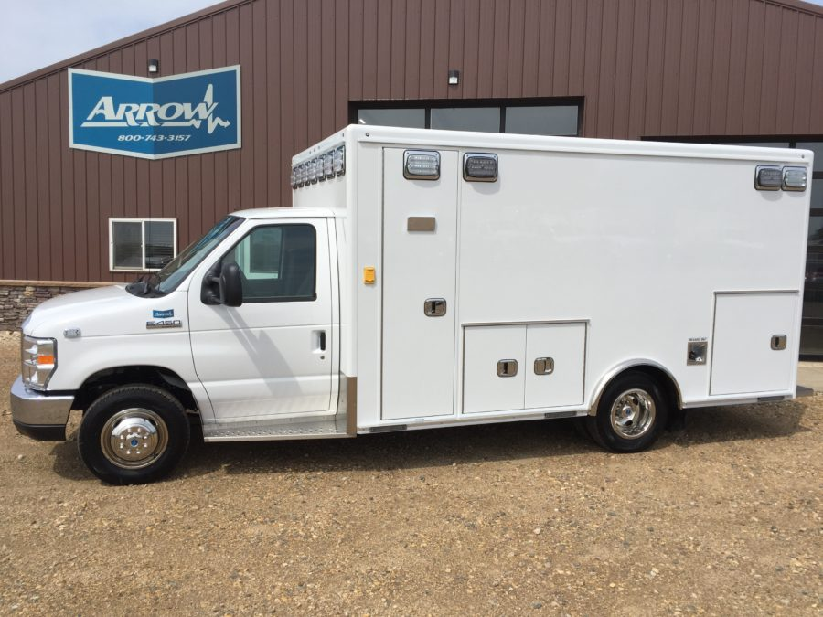 2018 Ford E450 Type 3 Ambulance delivered to Sioux Center Ambulance in Sioux Center, IA