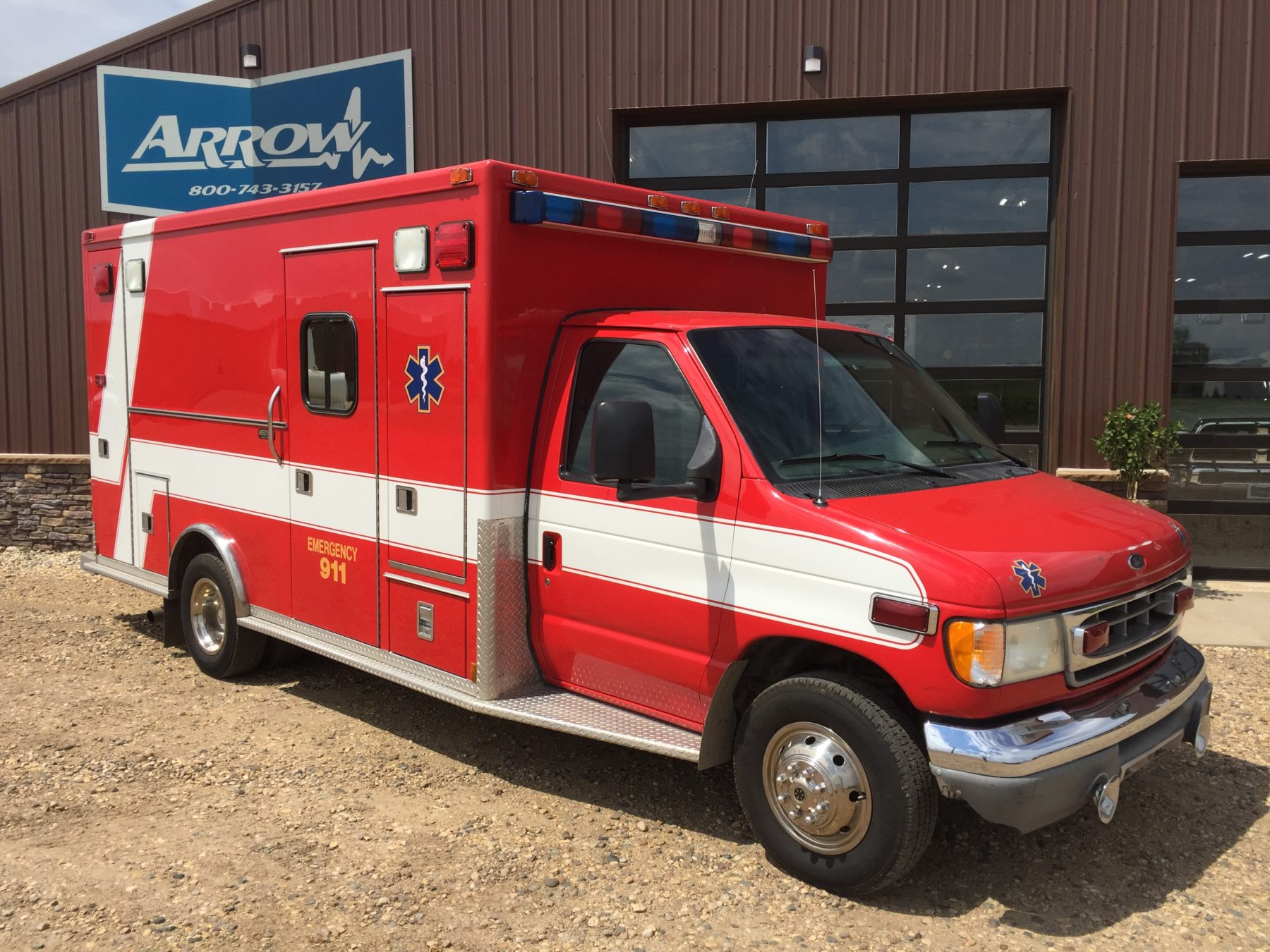 2002 Ford E450 Type 3 Ambulance For Sale – Picture 3