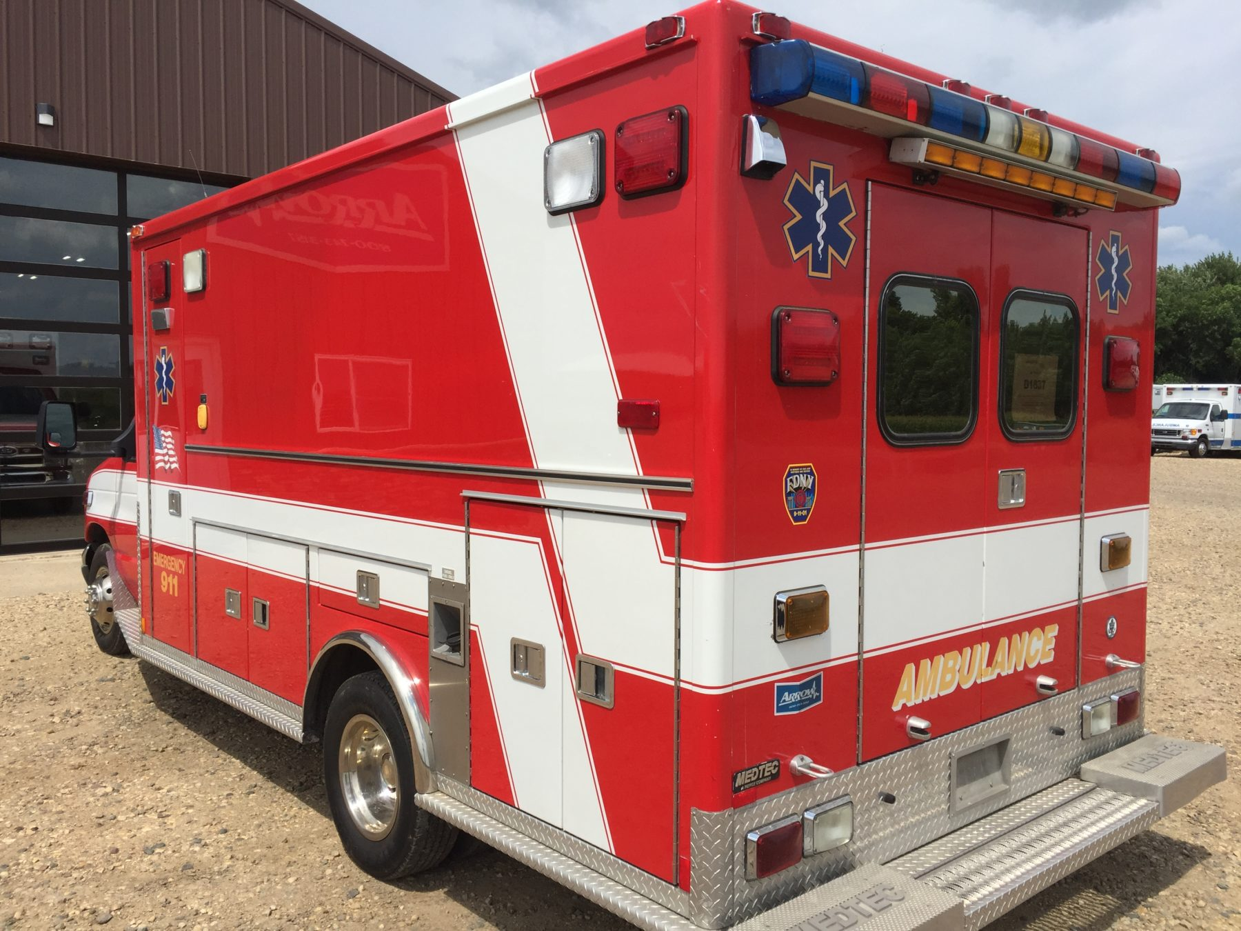 2002 Ford E450 Type 3 Ambulance For Sale – Picture 8