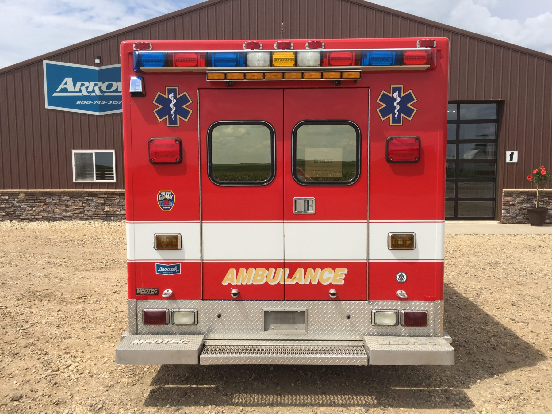 2002 Ford E450 Type 3 Ambulance For Sale – Picture 9