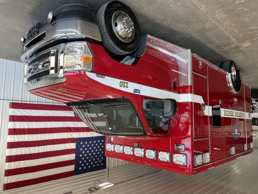 2021 Ford E450 Type 3 Ambulance delivered to Ralston Fire Department in Ralston, NE