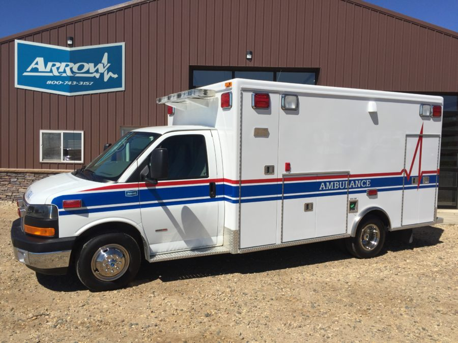 2007 Chevrolet G3500 Type 3 Ambulance For Sale