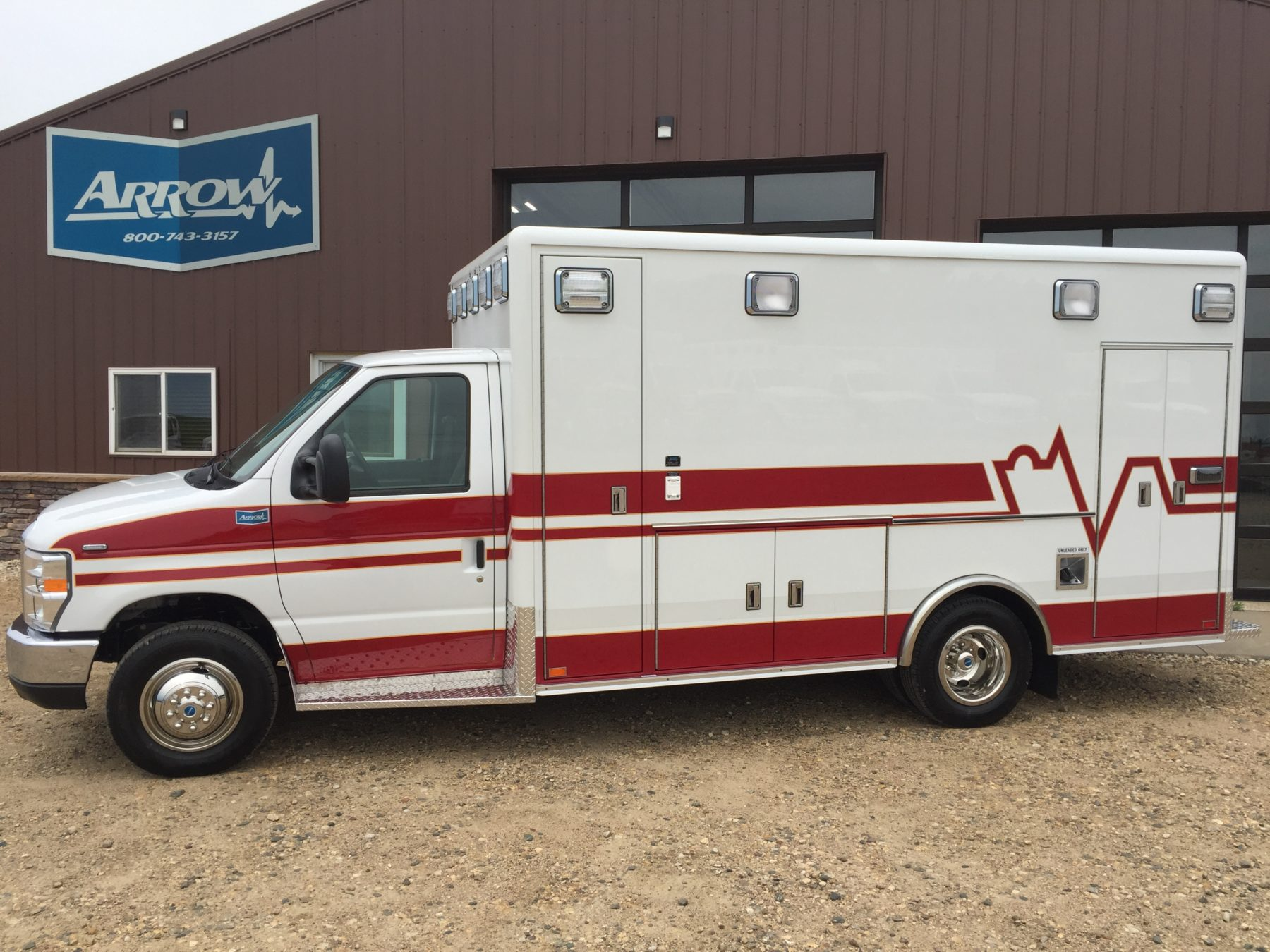 2018 Ford E450 Type 3 Ambulance For Sale – Picture 1