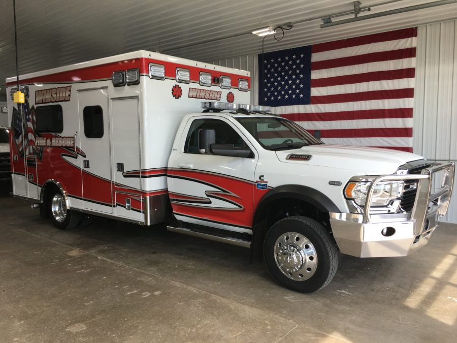 2020 Ram 4500 Heavy Duty 4x4 Ambulance