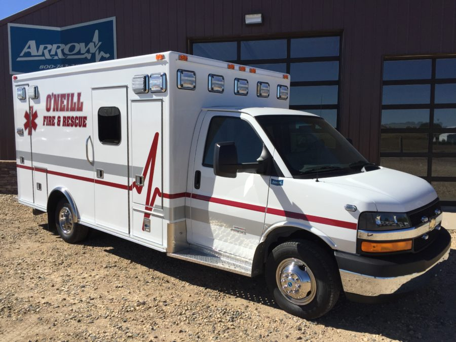Ambulance delivered to O'Neill Rural Fire Dist