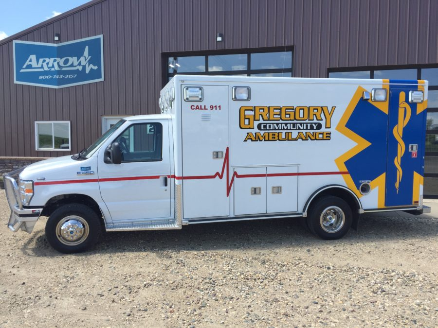 Ambulance delivered to Gregory Ambulance
