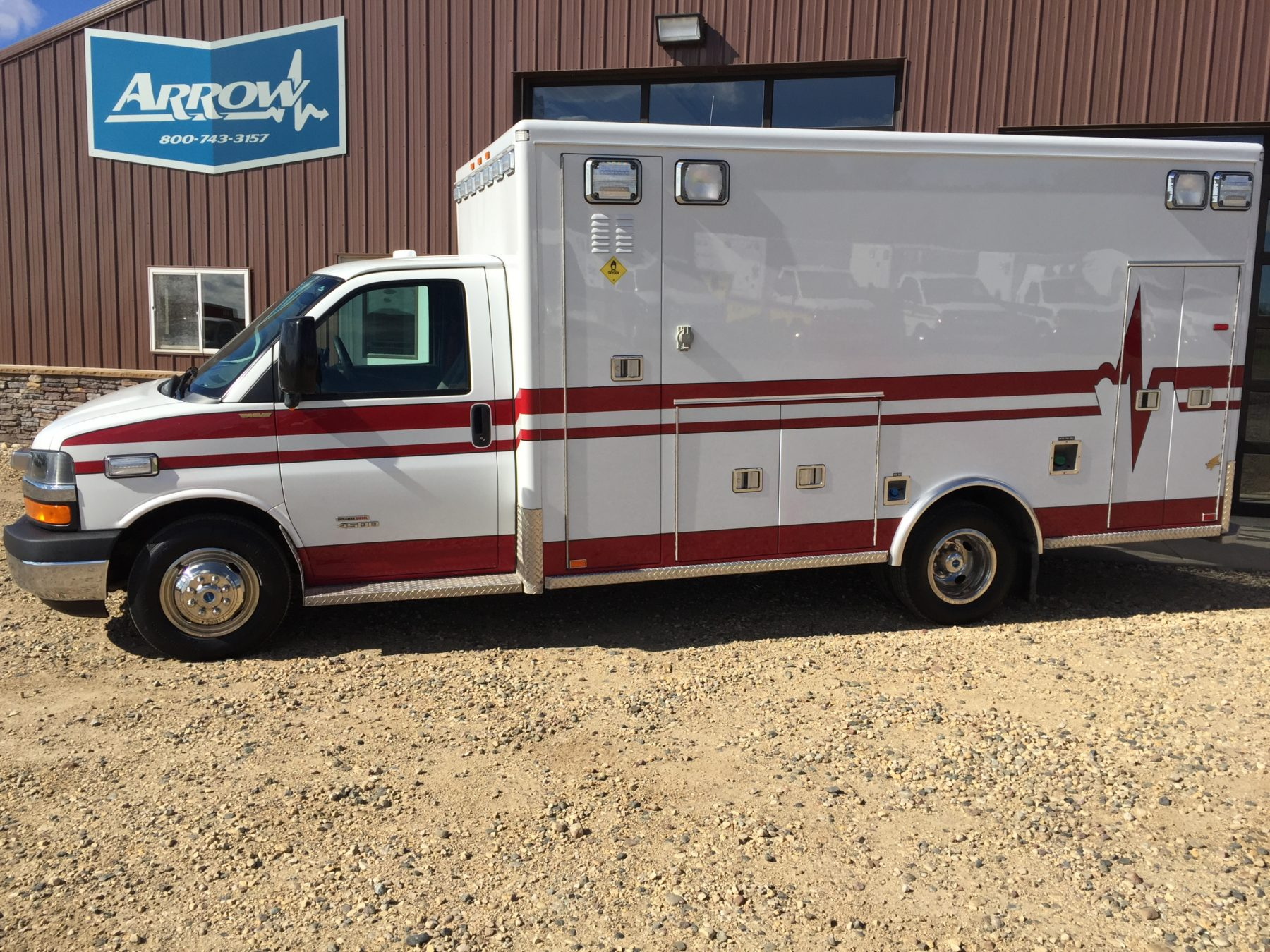 Truck # 70096 - 2013 Chevrolet G4500 Type 3 AEV Ambulance