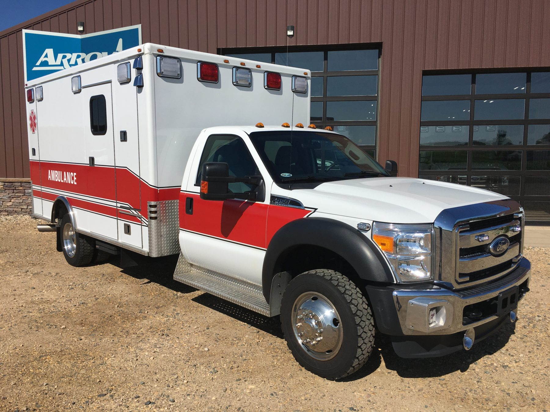 2011 Ford F450 4x4 Heavy Duty Ambulance For Sale – Picture 1