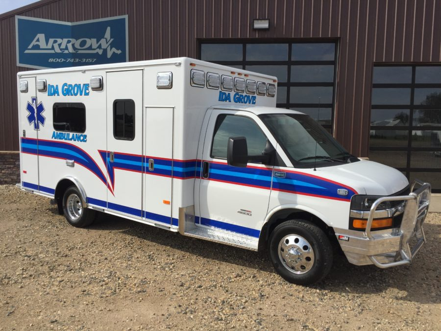 Ambulance delivered to Ida Grove Community Ambulance