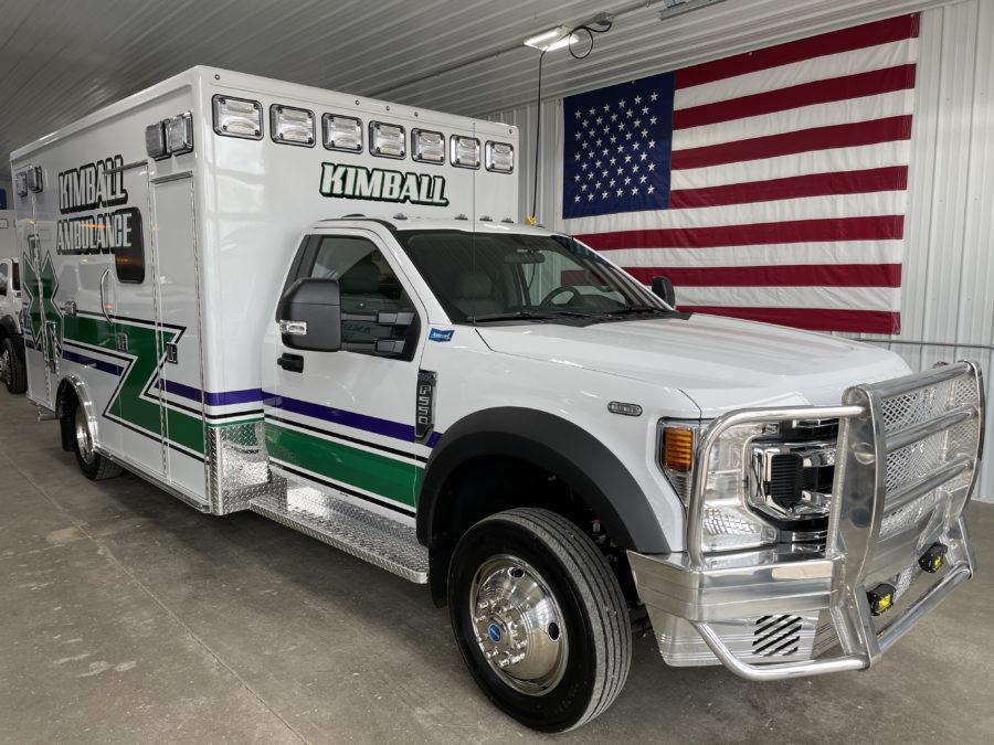 2021 Ford F550 Heavy Duty 4x4 Ambulance