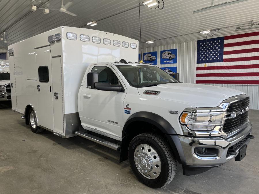 2020 Ram 4500 Heavy Duty 4x4 Ambulance delivered to Telfair County EMS in McRae-Helena, GA