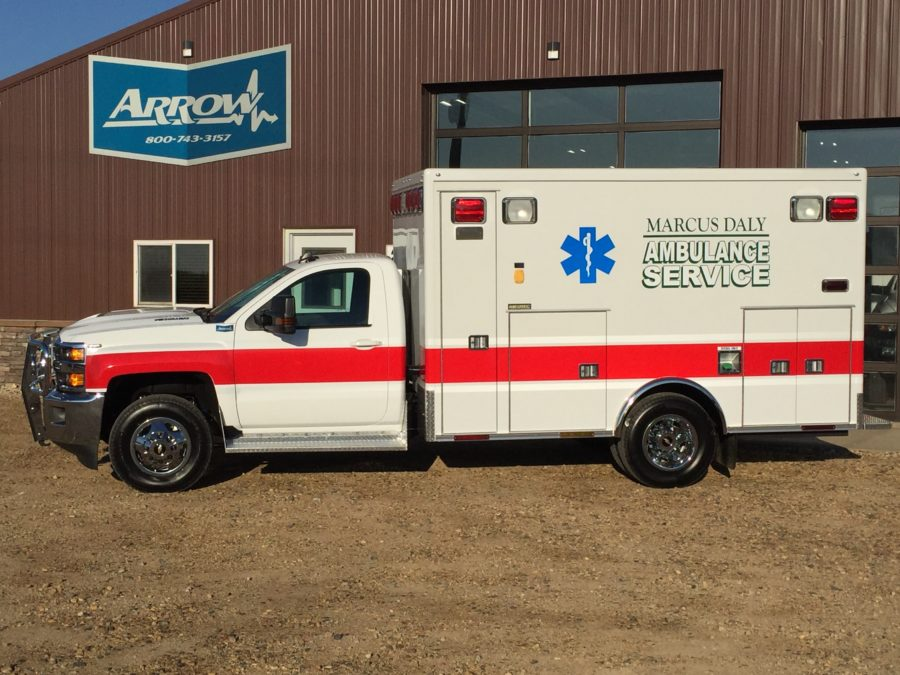 Ambulance delivered to Marcus Daly Memorial Hospital