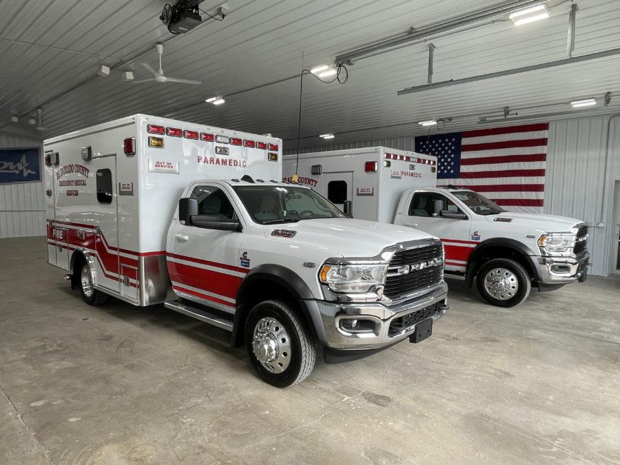 Ambulance delivered to El Dorado County