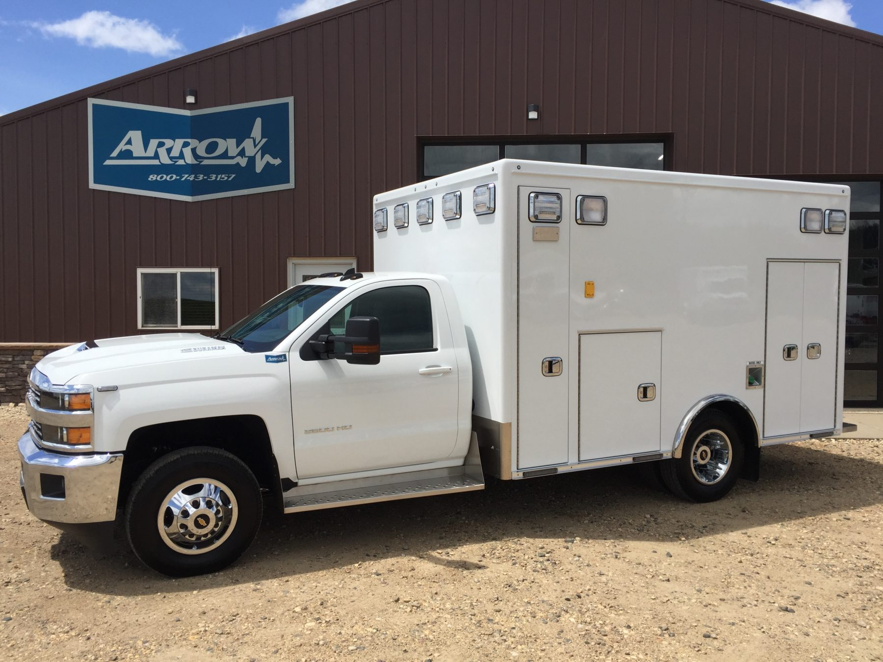 2018 Chevrolet K3500 4x4 Type 1 Ambulance For Sale – Picture 1