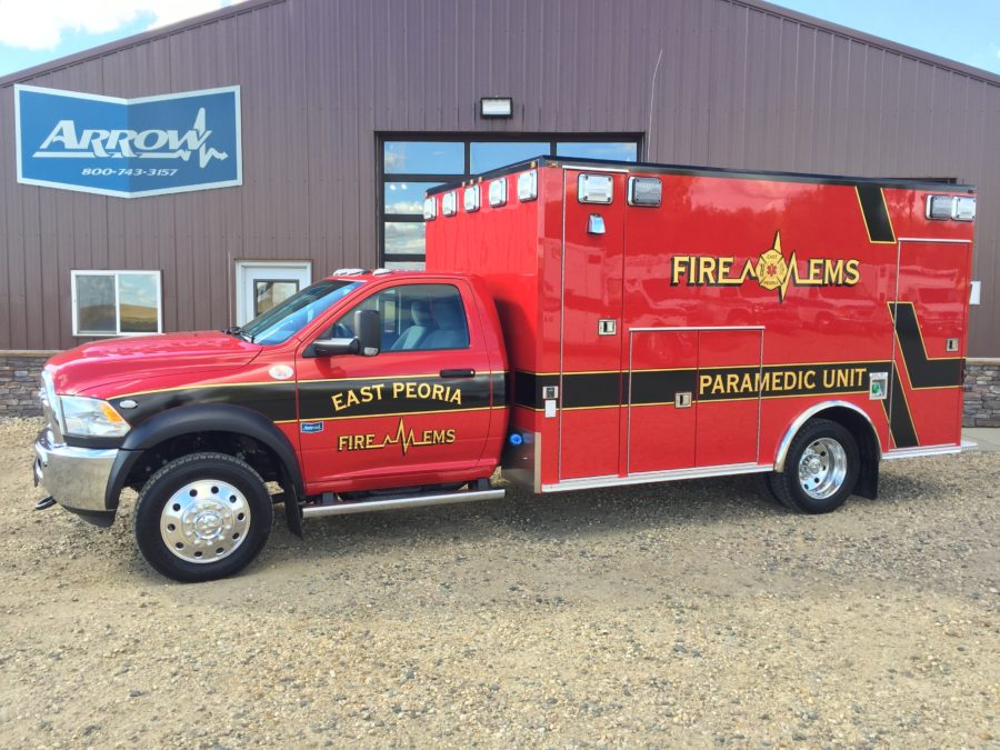 Ambulance delivered to East Peoria Fire Department