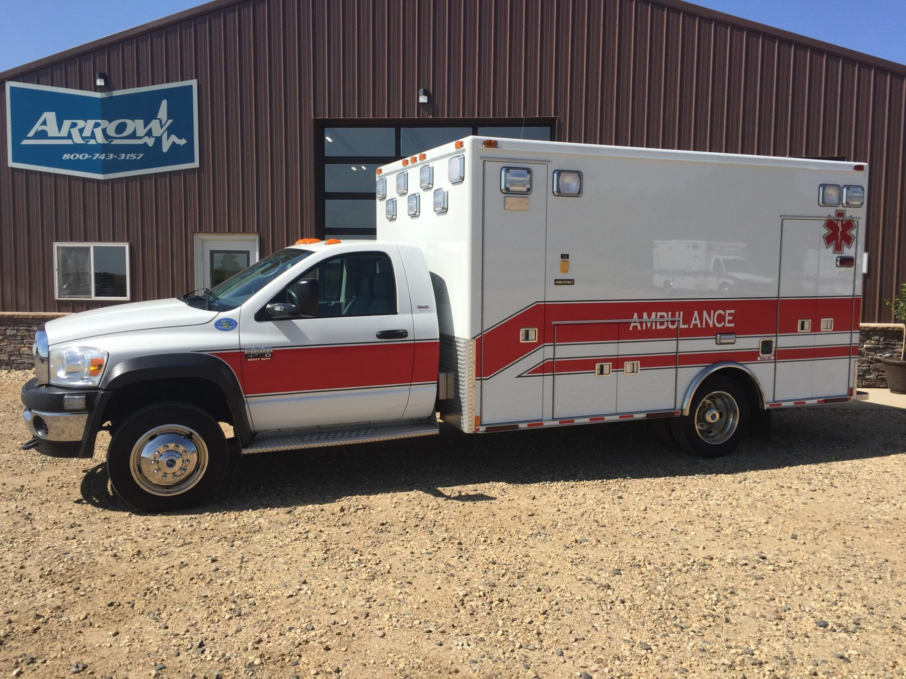 2009 Dodge 4500 Heavy Duty Ambulance For Sale – Picture 1