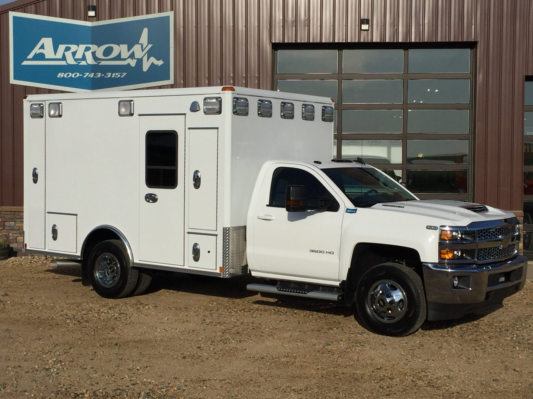 2019 Chevrolet K3500 4x4 Type 1 Ambulance For Sale – Picture 3