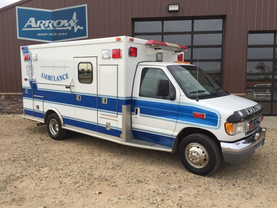 1998 Ford E450 Type 3 Ambulance For Sale