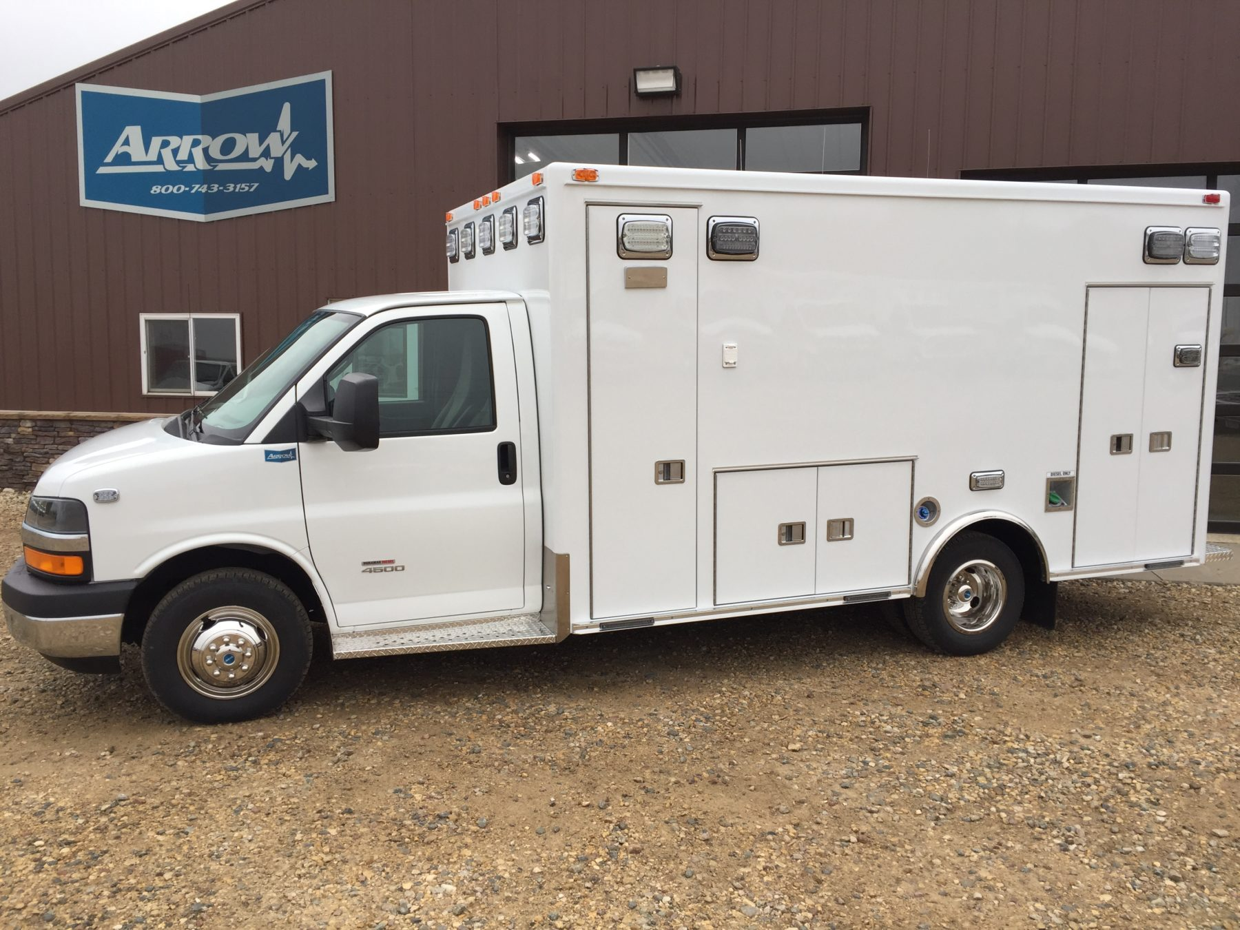 2016 Chevrolet G4500 Type 3 Ambulance For Sale – Picture 4