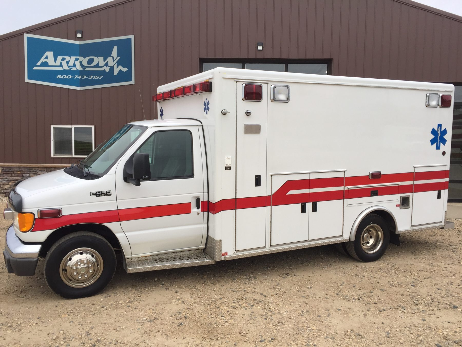 2003 Ford E450 Type 3 Ambulance For Sale – Picture 1