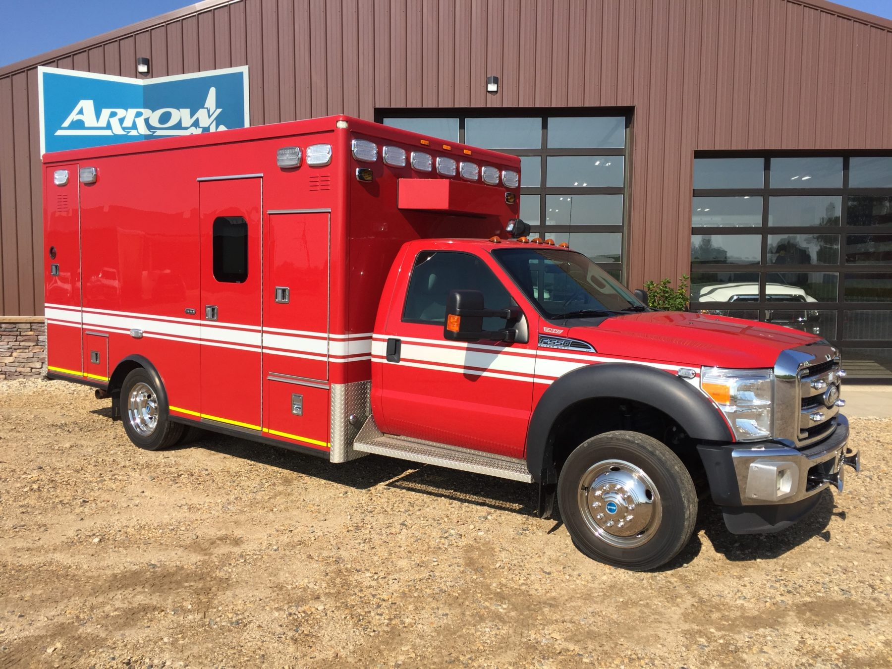 2012 Ford F550 4x4 Heavy Duty Ambulance For Sale – Picture 3