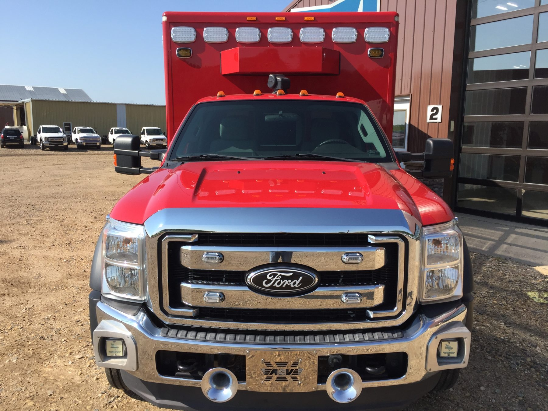 2012 Ford F550 4x4 Heavy Duty Ambulance For Sale – Picture 7