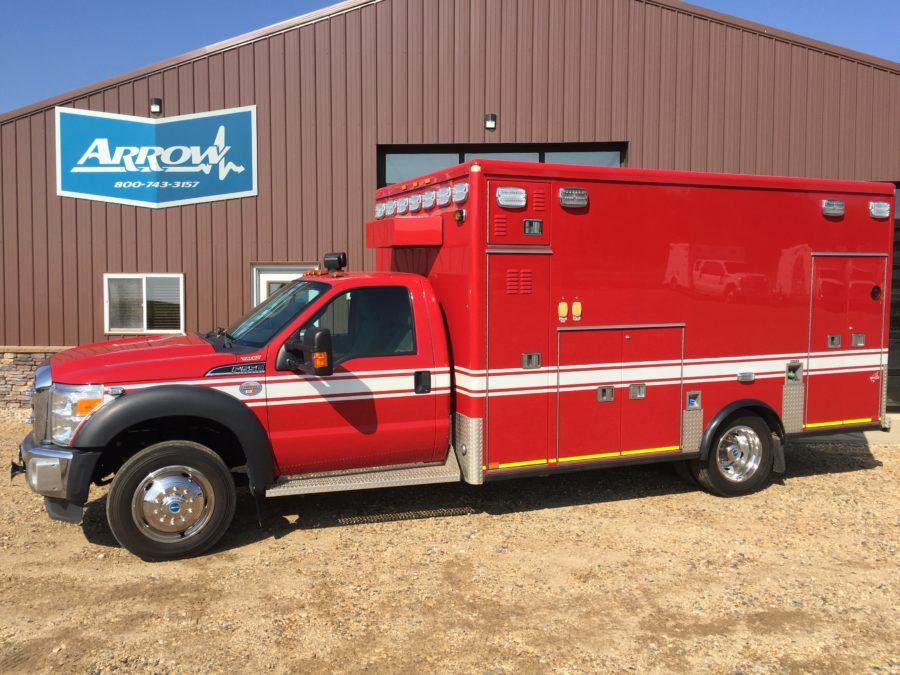 2012 Ford F550 4x4 Heavy Duty Ambulance For Sale