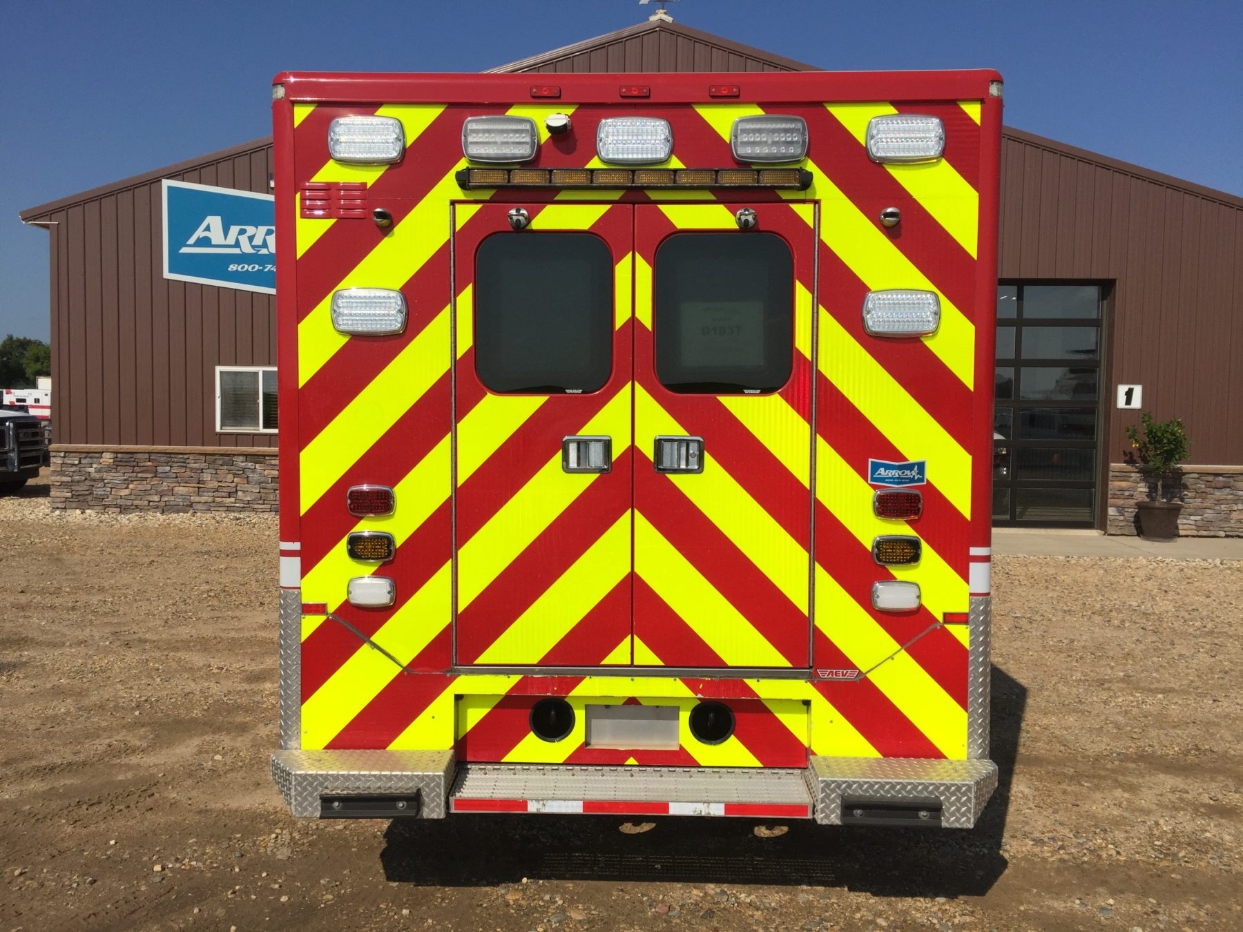 2012 Ford F550 4x4 Heavy Duty Ambulance For Sale – Picture 8