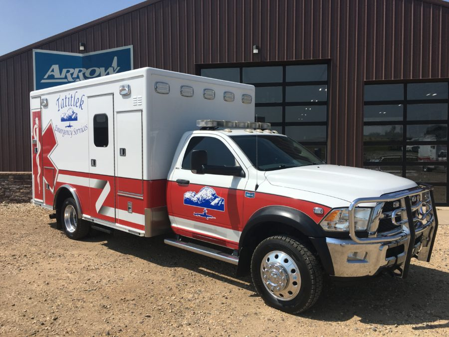 2015 Dodge 4500 Heavy Duty 4x4 Ambulance delivered to Village of Tatitlek in Tatitlek, AK
