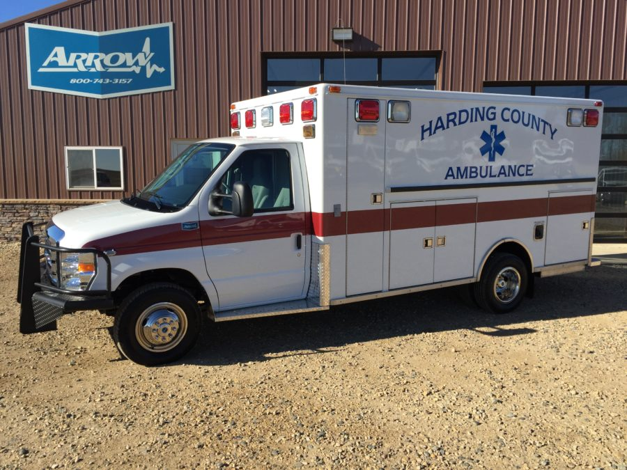 Ambulance delivered to Harding County – Camp Crook, SD