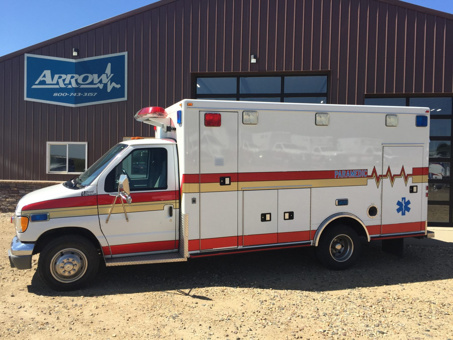 1999 Ford E450 Type 3 Ambulance For Sale – Picture 1