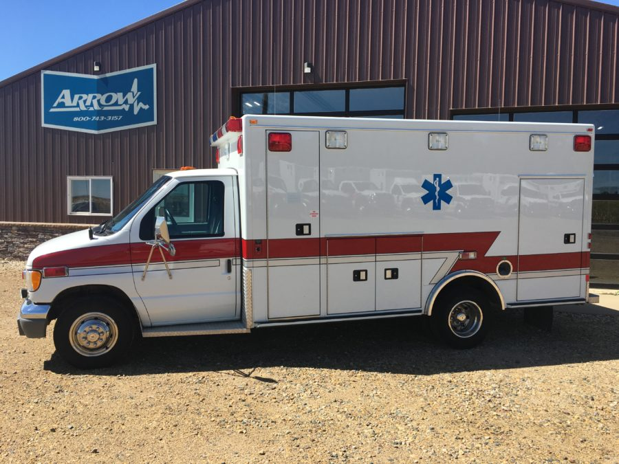 1998 Ford E450 Type 3 Ambulance For Sale – Picture 1