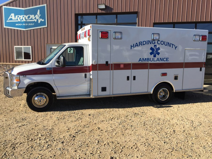 Ambulance delivered to Harding County – Buffalo, SD