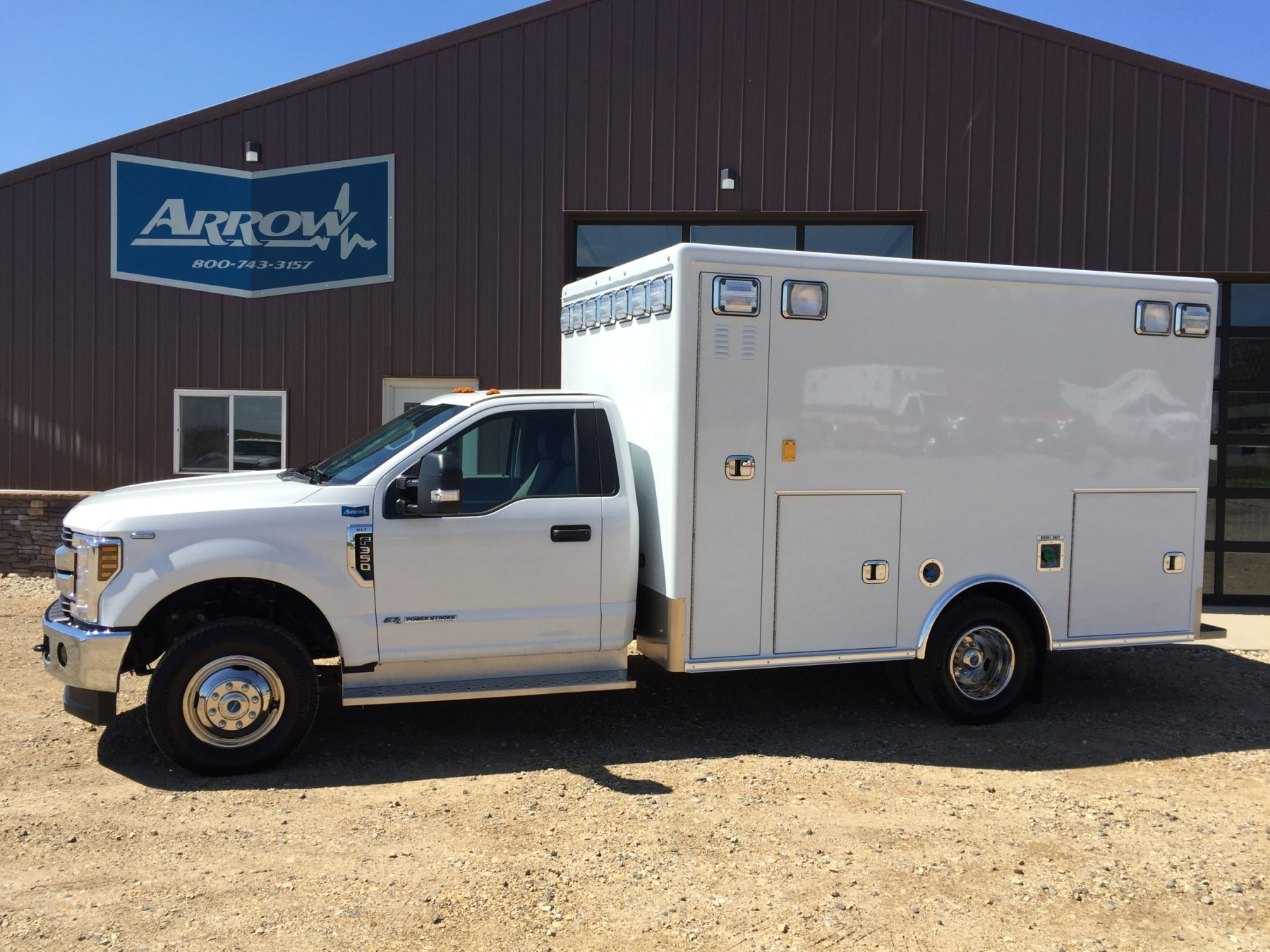 2018 Ford F350 4x4 Type 1 Ambulance For Sale – Picture 1