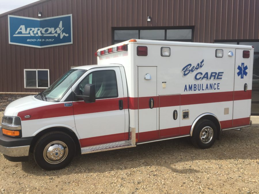 2017 Chevrolet G3500 Type 3 Ambulance delivered to Best Care Ambulance Inc. in Trappe, MD
