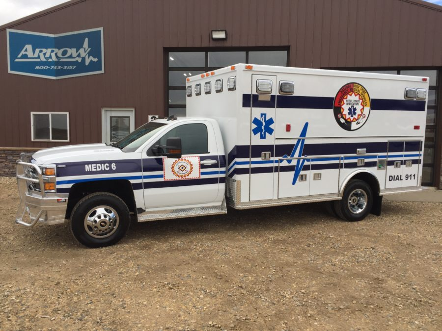 Ambulance delivered to Rosebud Ambulance