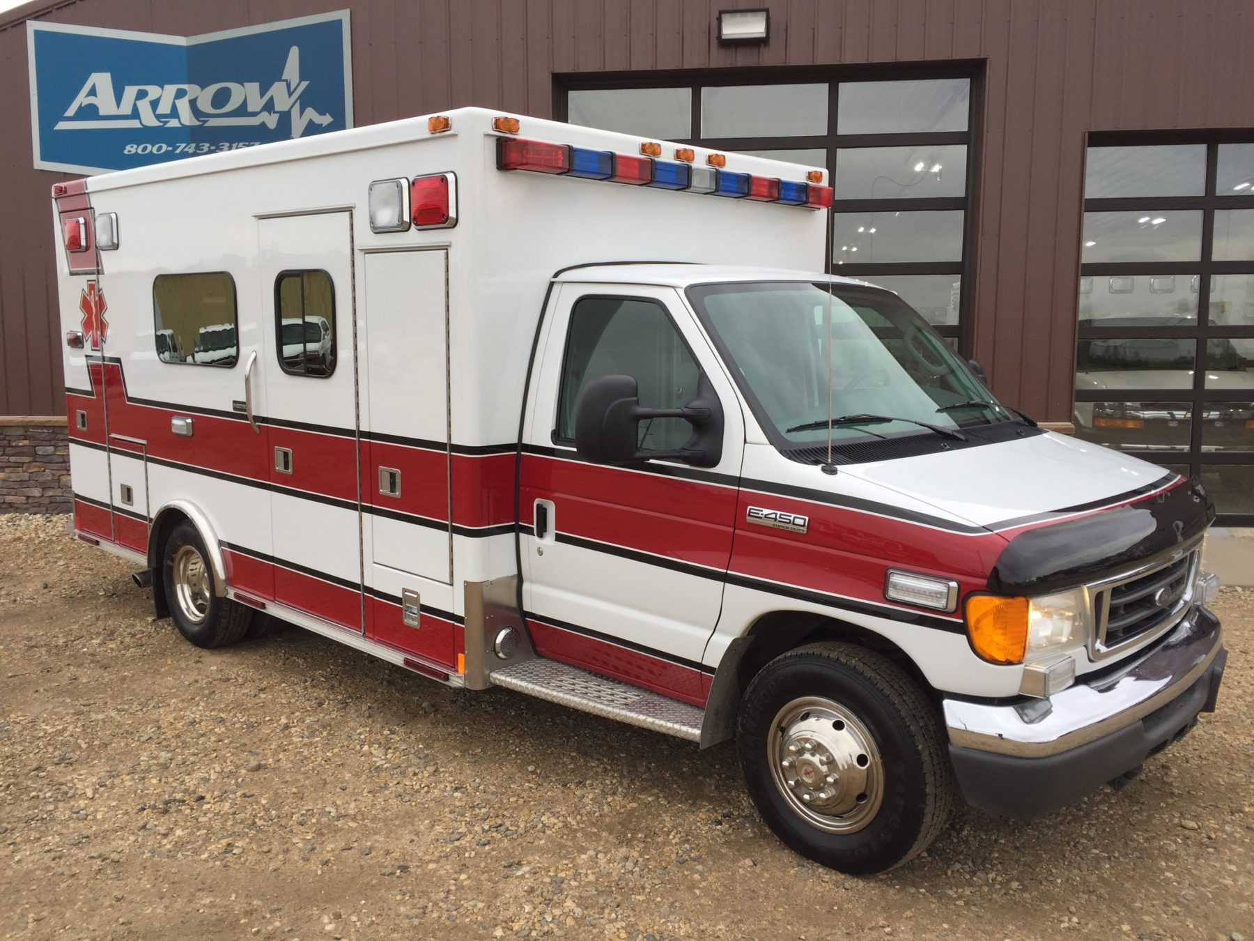 2007 Ford E450 Type 3 Ambulance For Sale – Picture 3