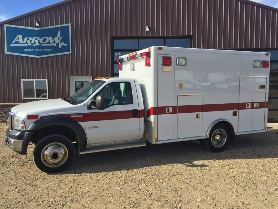 2006 Ford F450 4x4 Heavy Duty Ambulance For Sale