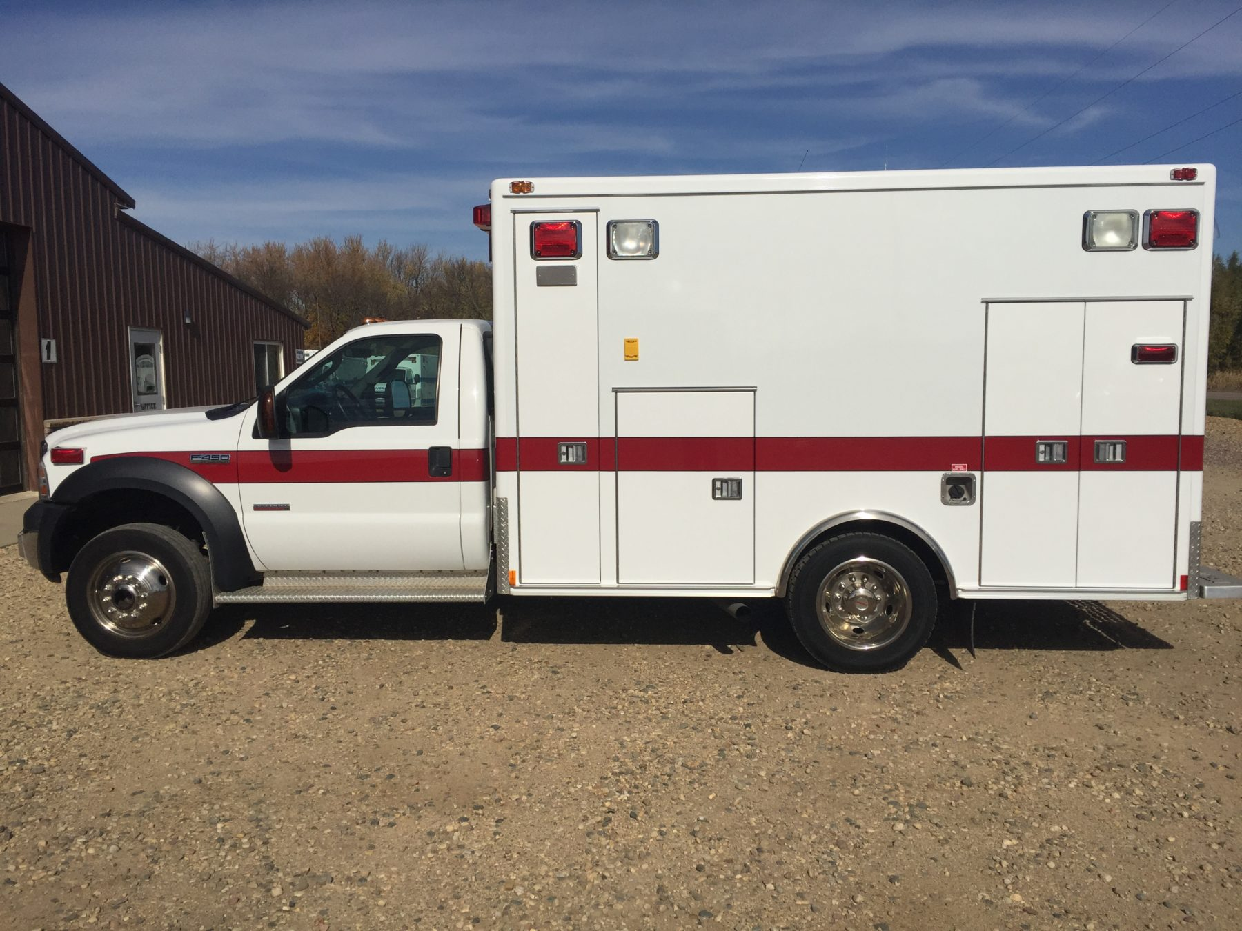 2006 Ford F450 4x4 Heavy Duty Ambulance For Sale – Picture 7