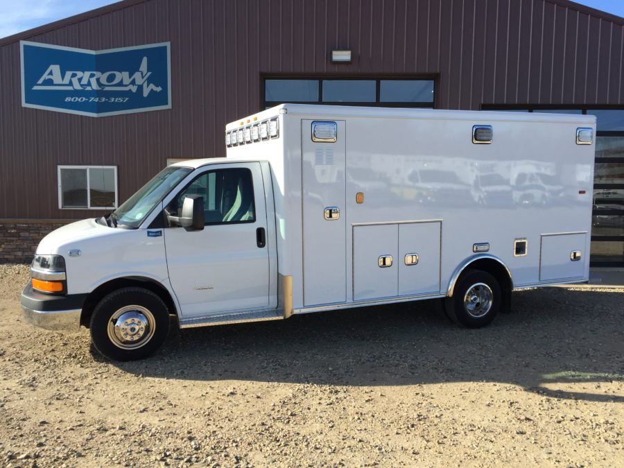 2016 Chevrolet G4500 Type 3 Ambulance delivered to East Troy Fire Rescue in East Troy, WI
