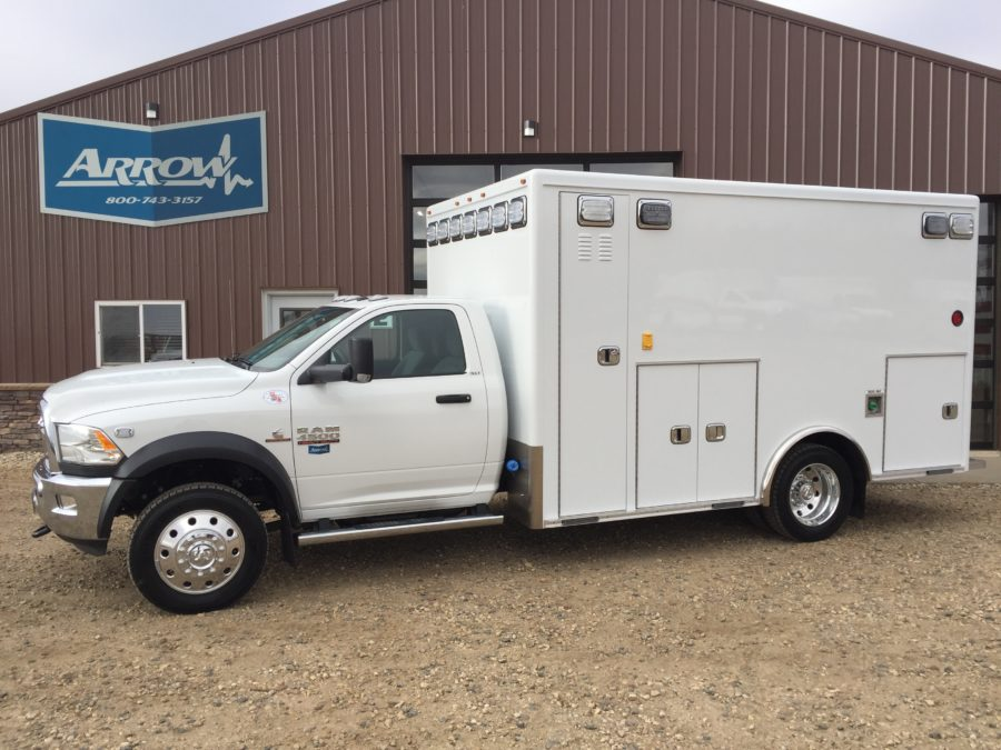 2017 Ram 4500 4x4 Heavy Duty Ambulance For Sale
