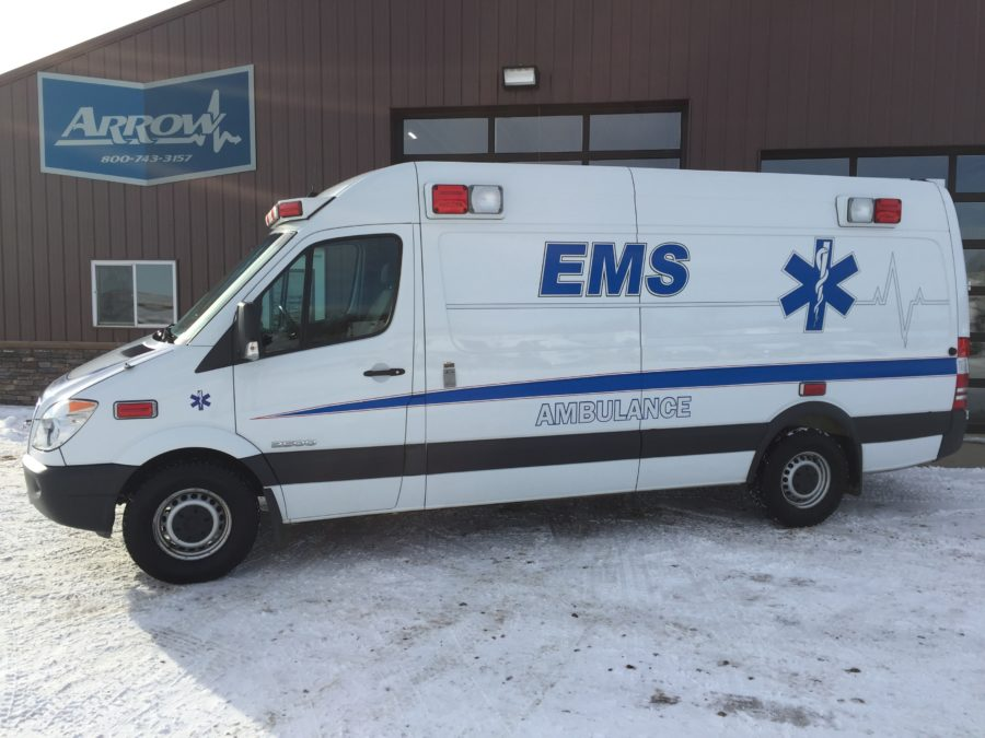 2007 Dodge Sprinter Type 2 Ambulance For Sale
