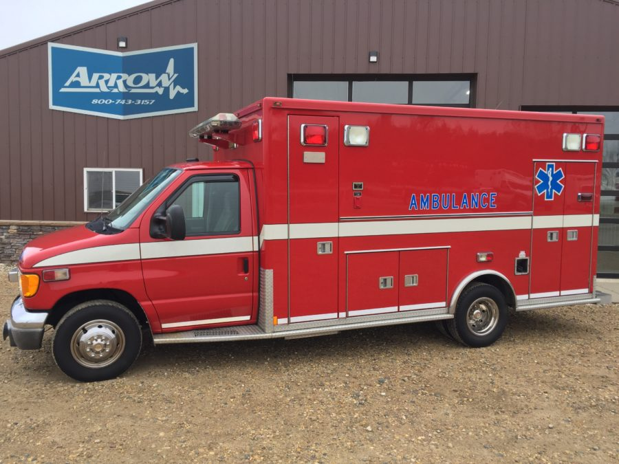 2003 Ford E450 Type 3 Ambulance For Sale