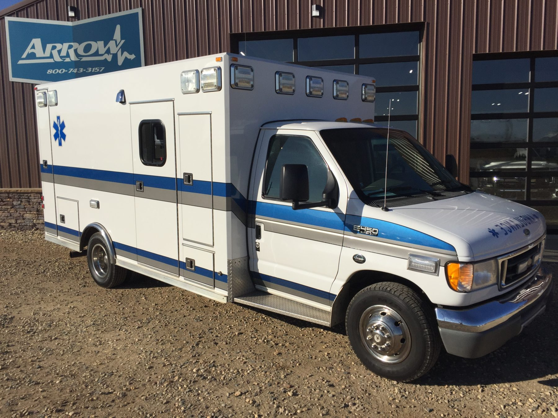 2001 Ford E450 Type 3 Ambulance For Sale – Picture 3